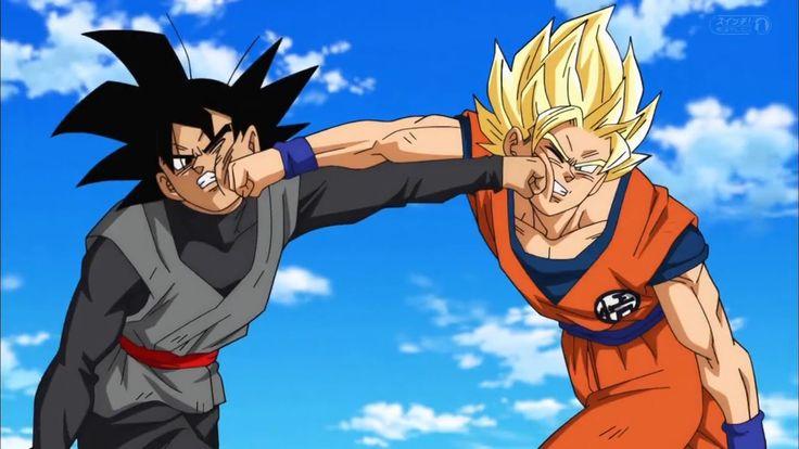Goku vs Black Goku (Full Fight) English Sub