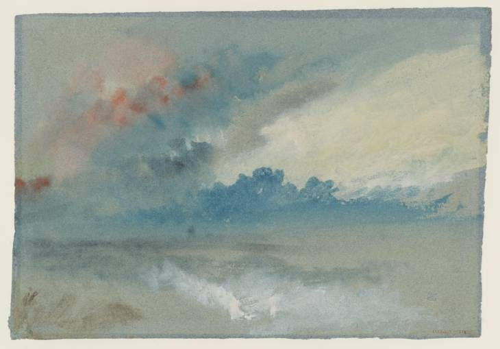 Joseph Mallord William Turner, 'Study of Clouds' after c.1830