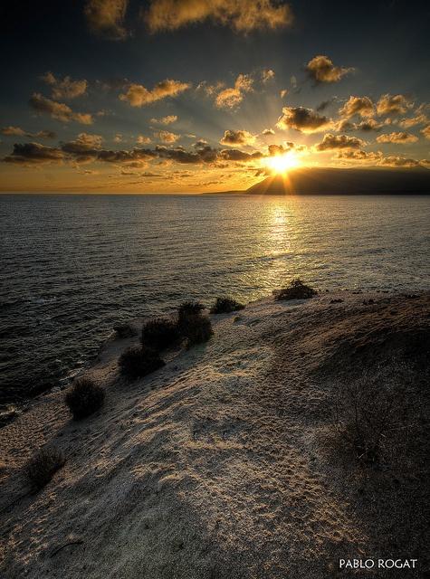 Puesta de sol en Antofagasta