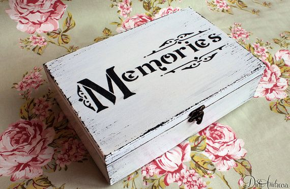 Personalized wood memory box to store all of your most by ArtDidi