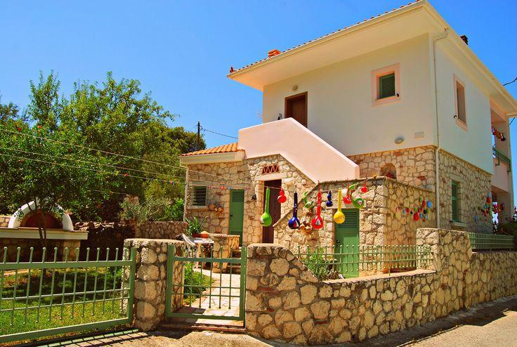 Beautiful House with pumpkins Lefkada -Greece