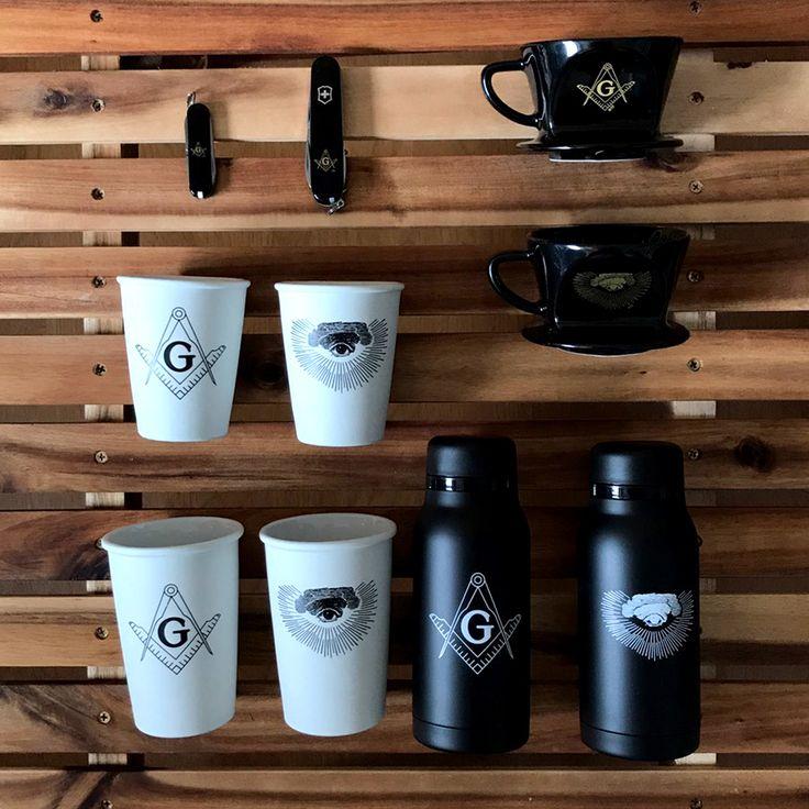 波佐見焼フリーメイソンという斬新さ機能性も備えたコーヒーグッズ