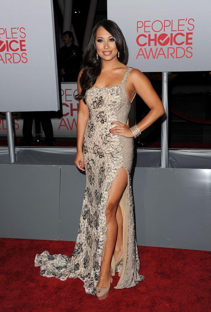 Cheryl Burke: Cheryl Burke was at the 2012 People's Choice Awards.