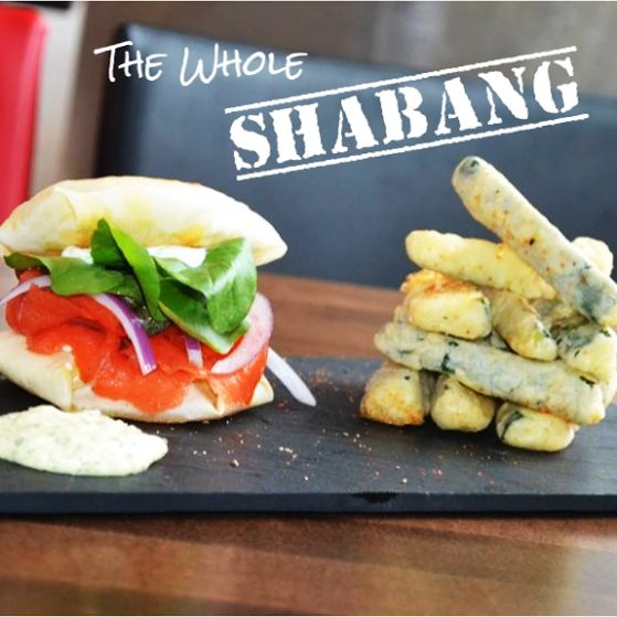 MT @nubsbhq: The whole shabang! A little bit of everything, all at once - that's NU! #burgushi #yycfood