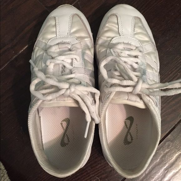Nfinity cheer shoes Worn for 1 week (indoors only) size 5.5 great condition & quality! Will accept offer from $50-$60 nfinity Shoes Athletic Shoes