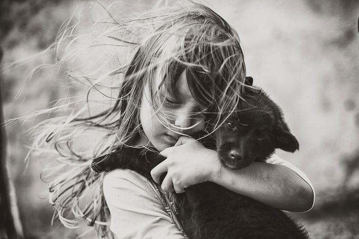 Children Summertime by Izabela Urbaniak / animals, kids