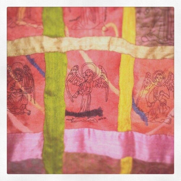 Angel tapestry 2014