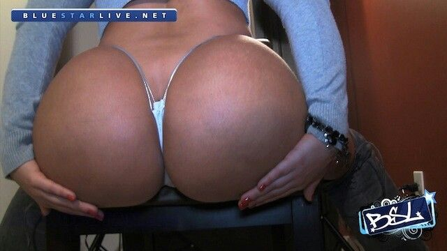 White butt cheeks God's yum