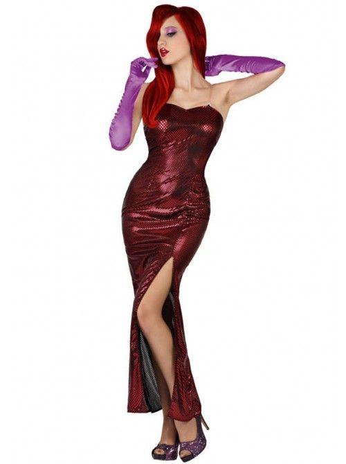 «Lei non immagina quanto sia difficile essere una donna con l'aspetto che ho.» «Sì, be'... E lei non immagina quanto sia difficile essere un uomo che guarda una donna con l'aspetto che ha lei.» #JessicaRabbit e  Eddie Valiant #Carnevale   #travestimento   #costumi