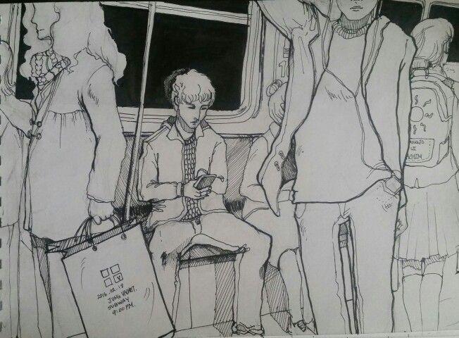 2016.2.18 / 9:00PM at the subway