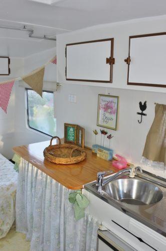 Shabby Chic Caravan RV Camper Trailer for sale on ebay.