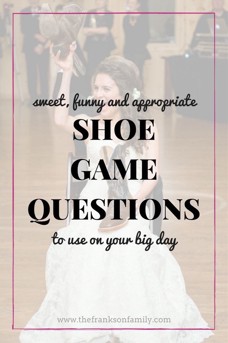 The Best Shoe Game Questions | Pinterest | Hilarious, Reception and Pdf