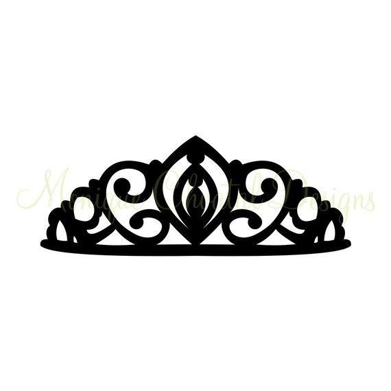 Princess Tiara  Silhouette by moniquechvatal on Etsy, $2.00
