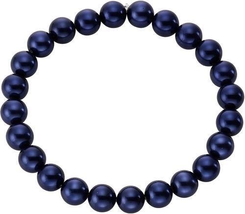 firetti Armband mit Muschelkernperlen. Dieses Armband ist ein wahrer Blickfang. Die royal blauen Muschelkernperlen setzen zu jedem Outfit tolle Akzente. Produkttyp: Armband. Perlenart: Muschelkernperlen. Perlenfarbe: Blau. Perlengröße: Ca. 8 mm. Gesamtlänge Armschmuck: Ca. 20 cm. Wissenswertes: Armband flexibel durch Zugband. Anzahl Schmuckteile: 1. Gewicht: Ca. 20,8 g. Verpackung: Inkl. Etui.