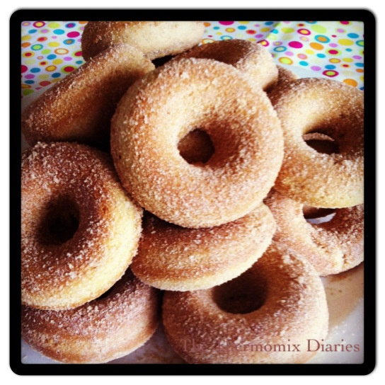 TMX baked cinnamon doughnuts