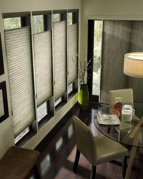 Hunter Douglas - contemporary - dining room - boston - Lisa Scheff Designs
