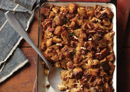 Whole-Grain Stuffing with Caramelized Onions and Pecans | Vegetarian ...