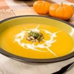 Spicy Pumpkin & Sweet Potato Soup