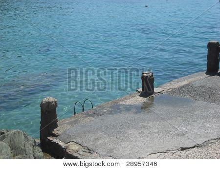 Photo : Old dock