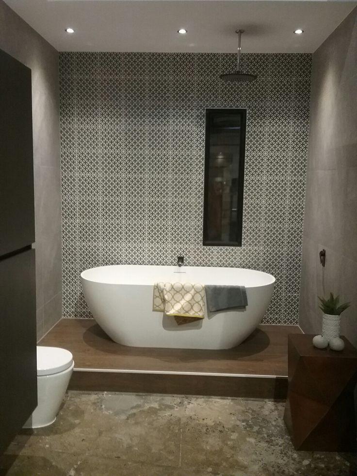 Tiled feature wall #porterdavis #porterdavis