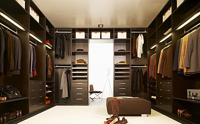 men's closet design - Google Search