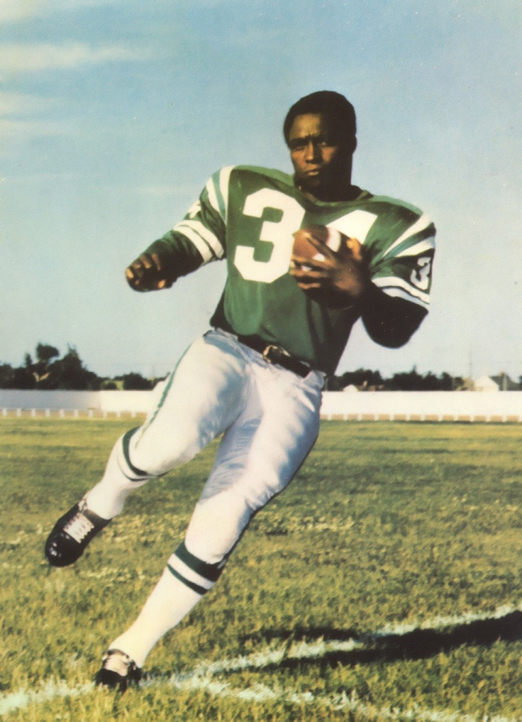 GEORGE REED!! NEVER have I seen a back hit the line of scrimmage like this man.  Roughriders