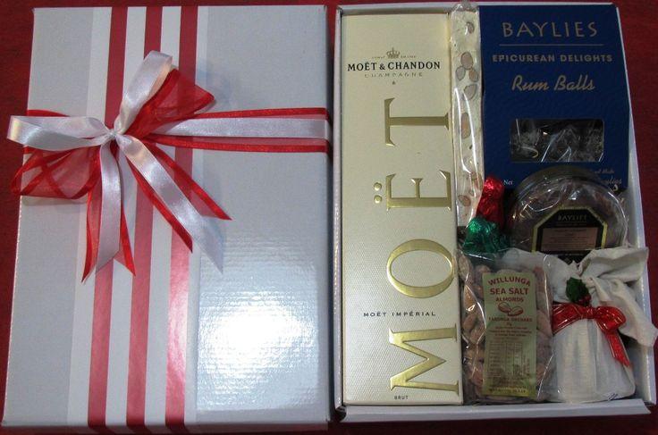 Christmas Gift Baskets Adelaide No. 218  http://giftbasketsadelaide.com.au/gift-baskets-adelaide-no.-218-Corporate-Christmas-Gifts-Moet.html