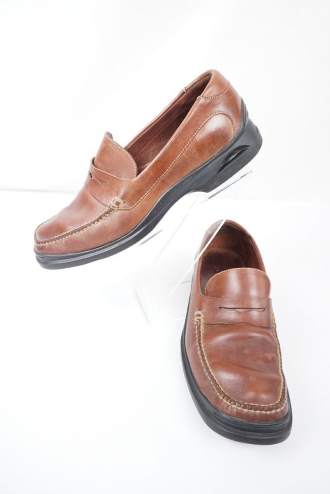 6e22a582ed Cole Haan Nike Air Brown Leather Slip On Loafers Men's Shoe Size 11.5  M-P1004 #ColeHaan #LoafersSlipOns #CasualAndFormal