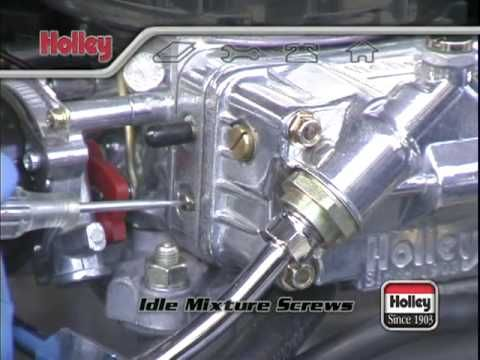 How To Adjust The Accelerator Pump On Holley Carburetors