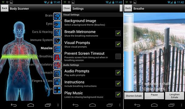 Breathe 2 Relax, app om PSTD-klachten te ondersteunen