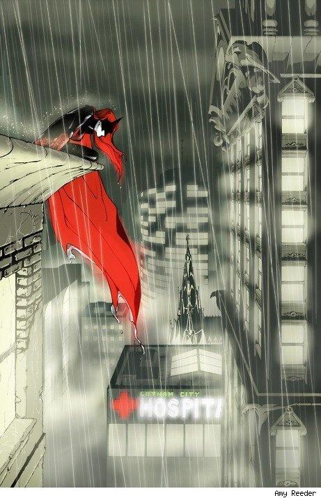 amy reeder's batwoman
