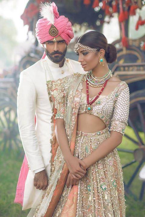Elan By Khadijah Shah Latest Bridal Wear 2015-16 (7)
