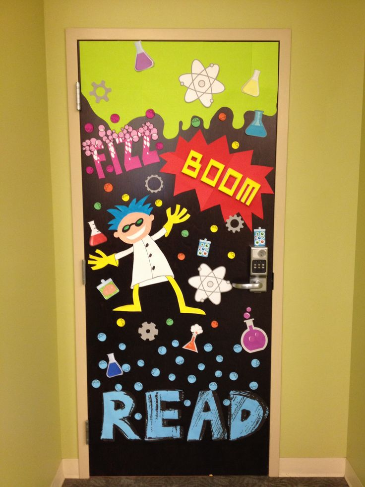 Fizz Boom Read Door For The Library Displays
