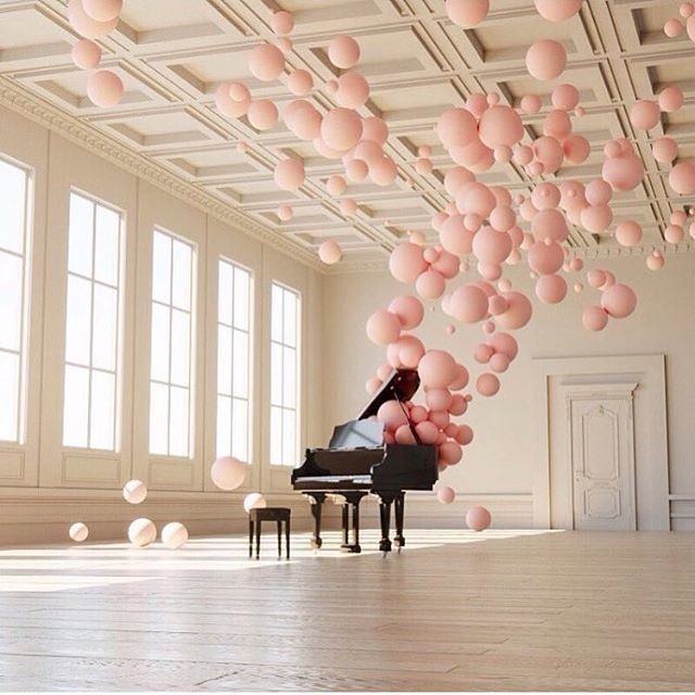 Wow!  #regram @federico_picci #piano #pink #balloons #music #space #inspiration #art #installation #mood #harpersbazaar #harpersbazaarpolska  via HARPER'S BAZAAR POLAND MAGAZINE OFFICIAL INSTAGRAM - Fashion Campaigns  Haute Couture  Advertising  Editorial Photography  Magazine Cover Designs  Supermodels  Runway Models