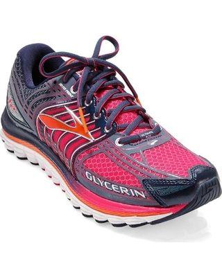 Brooks Glycerin 12 Road-Running Shoes - Women's Raspberry/Midnight 7.5