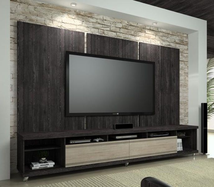 Muebles para tv modernos the image kid for Muebles para tv modernos