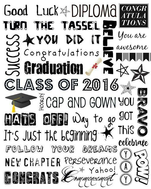 printable graduation cards free online