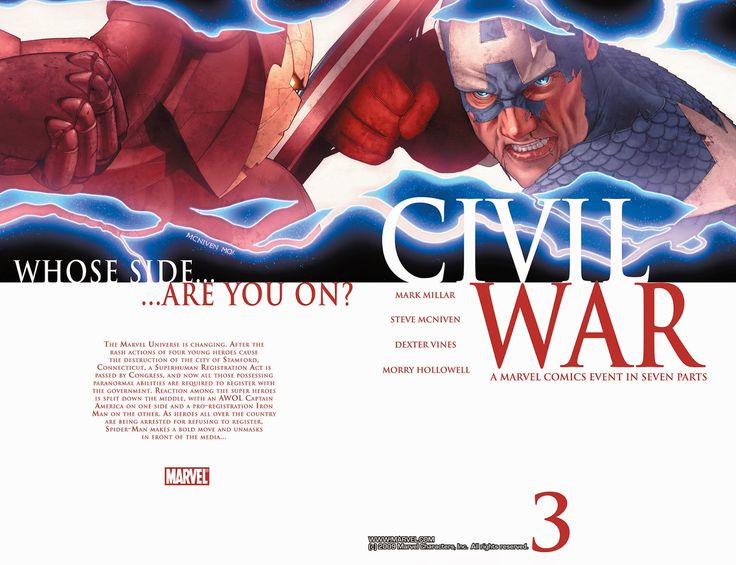 Civil War 003 (2006) ……………………………… | Viewcomic reading comics online for free