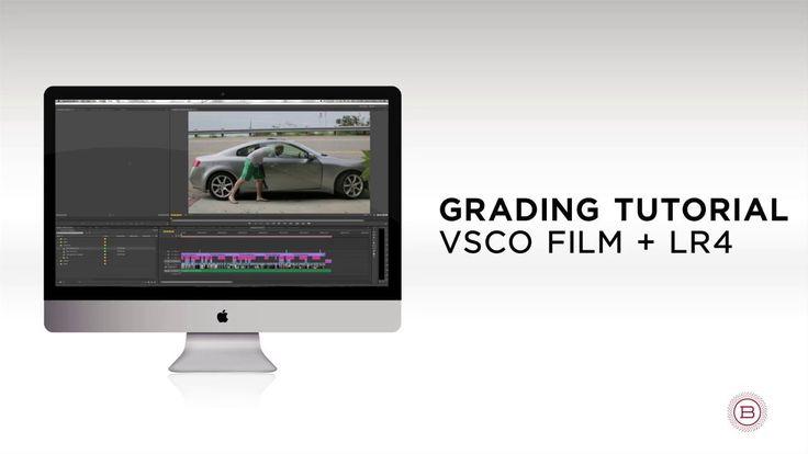 Grading Tutorial | VSCO Film + LR4 How to use lightroom presets to edit video for premier