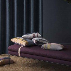 Medley Knit kussen Ferm Living 60x40cm dusty blue   Musthaves verzendt gratis