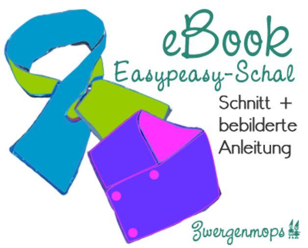 Easypeasy Schal Schnitt + EBook - ein Designerstück von Zwergenmops bei DaWanda