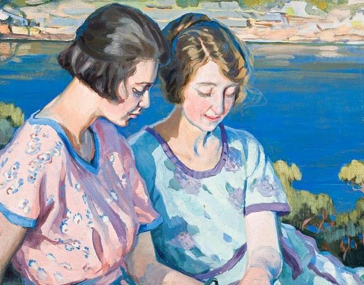 Hilda Rix Nicholas (Australian painter) 1884 - 1961