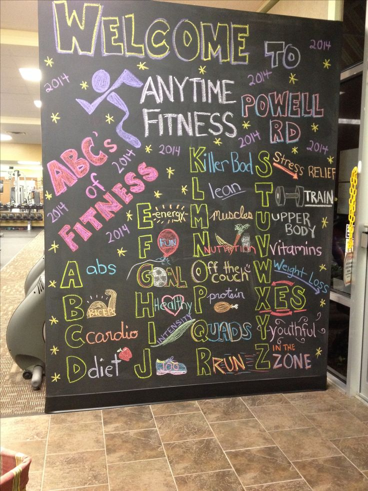 Pin by Rhonda Northcutt McNamara on My Anytime Fitness ...