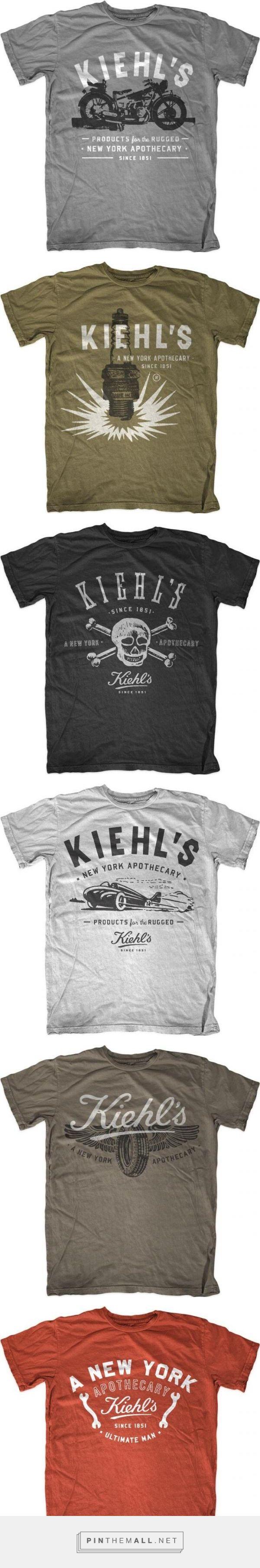 Kiehl's shirt artwork by The Neighborhood Studio (aka Curtis Jinkins)