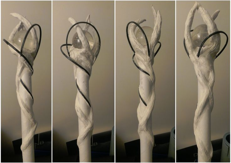 DIY Making a staff: Going to use this tutorial to create my own Maleficent staff for Halloween!