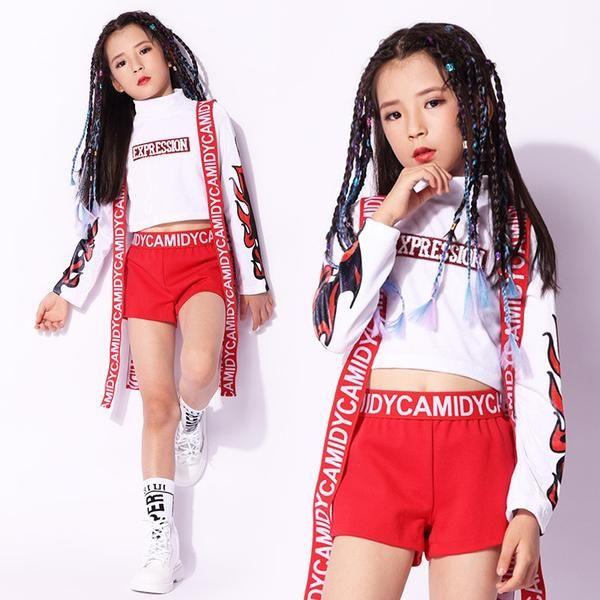 3d250ed263a0f Cheap Girls Sparkly Stage Jazz Dance Costume,Children Kids Hip Hop ...