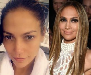 Jennifer Lopez  - Photos - Stars caught without makeup - NY Daily News