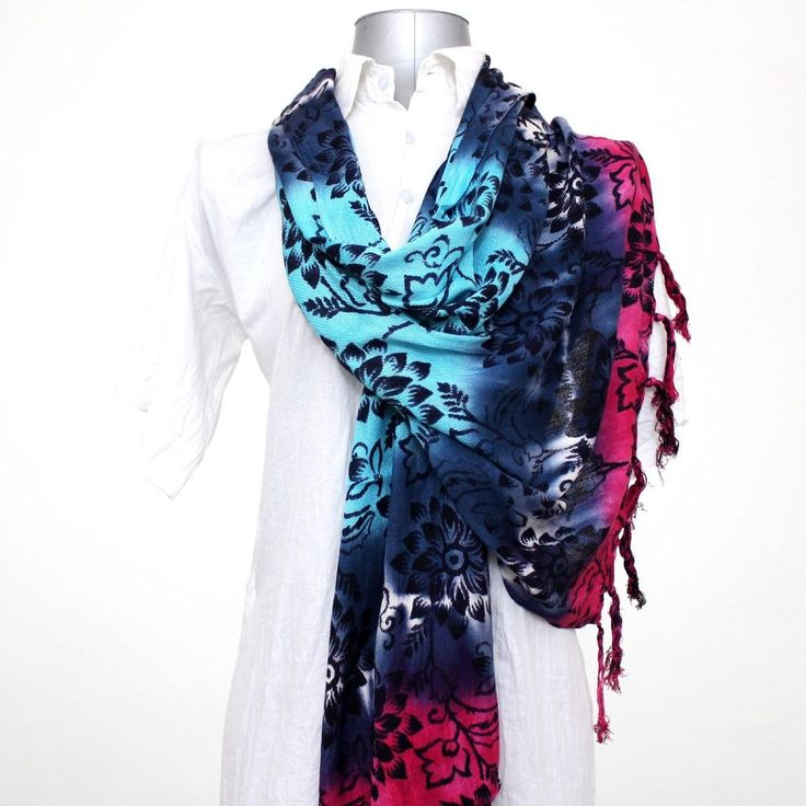 New Indian Cotton Fashion Scarf Beautiful Bohemian Handmade Boho Hippy Band #federalexports #Scarf