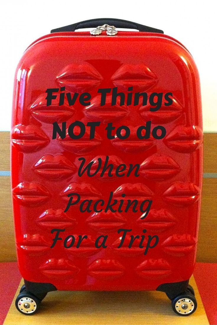 Packing for a holiday can be fun or you can get into a right pickle. Here I have five things you do not want to do when you pack for your next trip. With a bonus sixth packing tip for cat lovers. #packing #holiday #travel