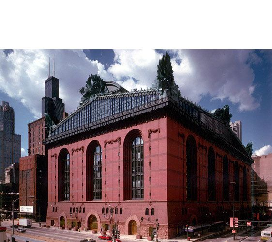 an analysis of the design of the harold washington library by thomas beeby The reading was held at the harold washington library one of my favorite pieces of chicago architecture (design by thomas beeby from hammond, beeby & babka but borrowing and browsing implies that for whatever you discover.